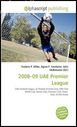 غلاف كتاب 2008-09 Uae Premier League
