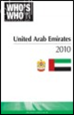 كتاب Who's who in the United Arab Emirates 2010