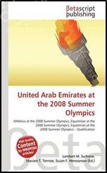 كتاب United Arab Emirates At The 2008 Summer Olympics