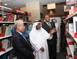 ركن إماراتي دائم في مكتبة الأردن الوطنية يتضمن 840 إصداراً