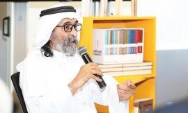 «رواد بيننا» تحتفي بتجربته الروائية.. أبو الريش: تكريمي مبادرة تحفّز المبدعين