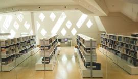 مكتبة مركز الشيخ زايد لعلوم الصحراء .. ثروة ثقافية