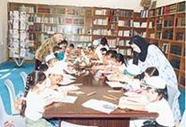إدارة المكتبات العامة في بلدية دبي
