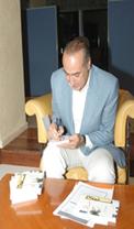 نادي دبي للصحافة يستضيف الكاتب هاني نقشبندي لتوقيع روايته