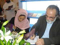 شهد جناح وزارة الثقافة والشباب وتنمية المجتمع في المعرض حفلي توقيع