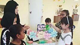 قرينة حاكم عجمان تشهد ورشة حول «أدب الطفل»