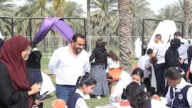 افتتاح المهرجان السابع للكتاب المستعمل في حديقة النخيل بالشارقة