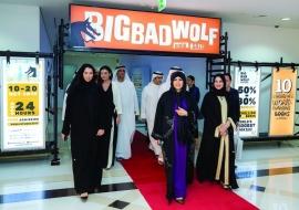 لطيفة بنت محمد افتتحت معرض «بيغ باد وولف» للكتب