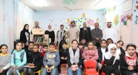"""""""كلمات لتمكين الأطفال"""" تهدي 700 كتاب لسبع مدارس في الأردن"""