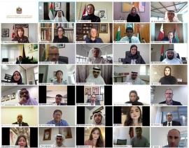 نهيان بن مبارك : 17 ألف عمل إبداعي بالمعرض الافتراضي للمحتوى المعرفي للتسامح