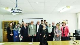 مركز جمعة الماجد يفتتح مختبراً للحفظ والمعالجة والترميم في داغستان
