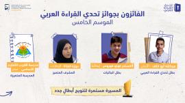 محمد بن راشد يهنئ أبطال القراءة العرب .. ويؤكد : ستبقى القراءة سلاحنا في مواجهة التحديات كافة