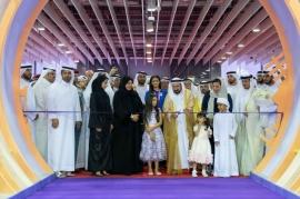 سلطان القاسمي يفتتح مهرجان الشارقة القرائي للطفل ويوجه بدعمه بـ 2.5 مليون درهم